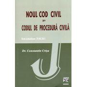 Noul cod civil si codul de procedura civila. Texte actualizate  29.08.2011