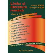 Limba si literatura romana. Clasa a X-a