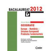 BACALAUREAT 2012 GEOGRAFIE