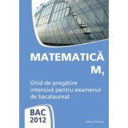 Bacalaureat 2012 Matematica M1