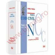 Noul Cod civil. Vol. I. ( Art. 1-1163). Adnotat cu jurisprudenta si doctrina