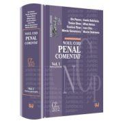 Noul Cod penal comentat. Volumul I - Partea generala