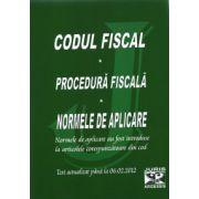 Codul Fiscal - Procedura Fiscala - Normele de aplicare  Actualizat  06.02.2012