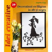 Decoraţiuni cu filigran în alb şi negru - Idei Creative 29