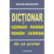 Dictionar German - Roman , Roman - German de uz scolar