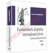 Fundamentele dreptului international privat 2012