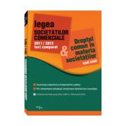 Legea Societatilor Comerciale  text comparat  2011/2012