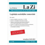 Legislatia societatilor comerciale  actualizat la 10 martie 2012
