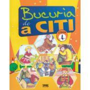 Bucuria de a citi : caiet de lectura pentru clasa a 4-a