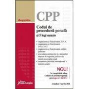 Codul de procedura penala si 5 legi uzuale Actualizat 5 aprilie 2012