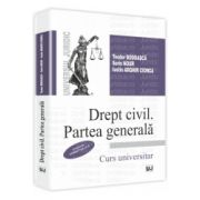 Drept civil. Partea generala  Conform noului Cod Civil