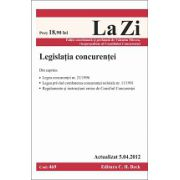 Legislatia concurentei  actualizat la 5.04.2012