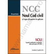 Noul Cod civil si Legea de punere in aplicare actualizat 23 aprilie 2012