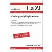 Codul penal si legile conexe actualizat la 20 aprilie 2012