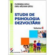 Studii de psihologia dezvoltării, volumul I