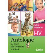 Antologie de texte din literatura romana