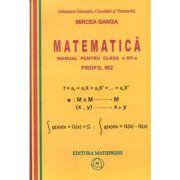 Matematica: Manual pentru clasa a XII-a, Profil M2