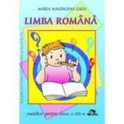 Limba romana clasa a III-a
