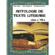 Antologie de texte literare Clasa a VII-a