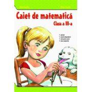 Caiet Matematica clasaa III-a