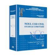 Noul Cod Civil. Studii si comentarii Volumul I. Cartea I şi Cartea a II-a (art. 1-534)