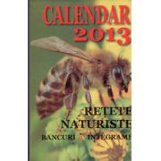 Calendar 2013 Retete Naturiste, Bancuri, Integrame