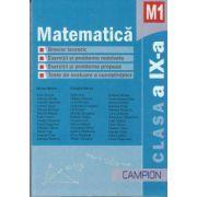 Matematica M1 clasa a IX-a