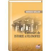 Cercetari de istorie a filosofiei