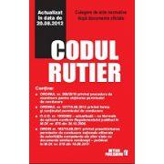 Codul rutier 2012. Culegere de acte normative