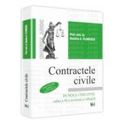 Contractele civile - in noul Cod Civil Contine teste grila conform noului Cod civil. Editia a III-a revazuta si adaugita