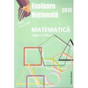 Evaluare națională 2013 Matematică