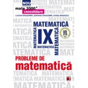PROBLEME DE MATEMATICA  2013 PENTRU CLASA A IX-A MATE 2000
