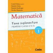 MATEMATICA Teme suplimentare pentru clasa a V-a SEMESTRUL 1