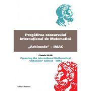 Pregatirea concursului international de matematica  Arhimede