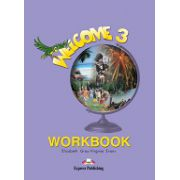 Welcome 3 (AB) workbook. Caiet pentru clasa a V-a