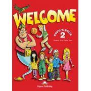 Welcome 2 - student's book Manual pentru clasa a IV-a