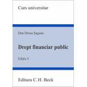Drept financiar public. Editia 5
