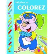 Imi place sa colorez. Vol. IV