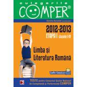 CULEGERILE COMPER. LIMBA SI LITERATURA ROMANA. CLASELE I-IV. ETAPA I