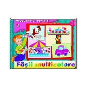 Fâşii multicolore 3-5 ani