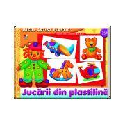 Jucării din plastilină 3-5 ani Micul artist plastic
