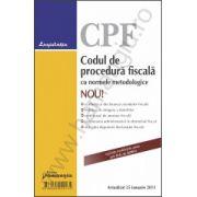 Codul de procedura fiscala cu normele metodologice actualizat 25 ianuarie 2013