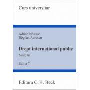 Drept international public. Sinteze Editia 7