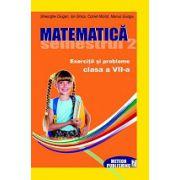 Matematica. Exercitii si probleme. Clasa a VII-a, semestrul II 2012-2013