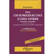 Noul Cod de procedura civila si Codul anterior. Prezentare comparativa in vigoare de la 15 februarie 2013
