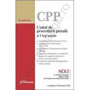 Codul de procedura penala si 5 legi uzuale actualizat 14 februarie 2013