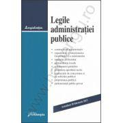 Legile administraţiei publice actualizat 20 februarie 2013