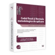 Codul fiscal si Normele metodologice de aplicare Ad litteram. Actualizat 10 aprilie 2013