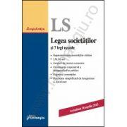 Legea societatilor si 7 legi uzuale - actualizat 30 aprilie 2013