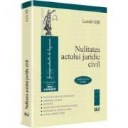 Nulitatea actului juridic civil Conform noilor Coduri